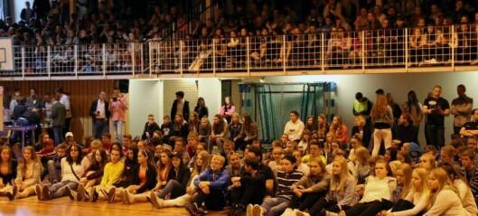 600 nyskapande ungdommar frå Sogn er samla i Årdal