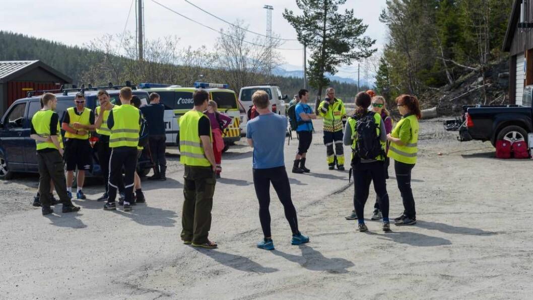 SØK: Neste onsdag startar politiet opp med søk i terreng der dei vil ta i bruk politihundar frå Bergen. Foto: Halvor Farsun Storvik