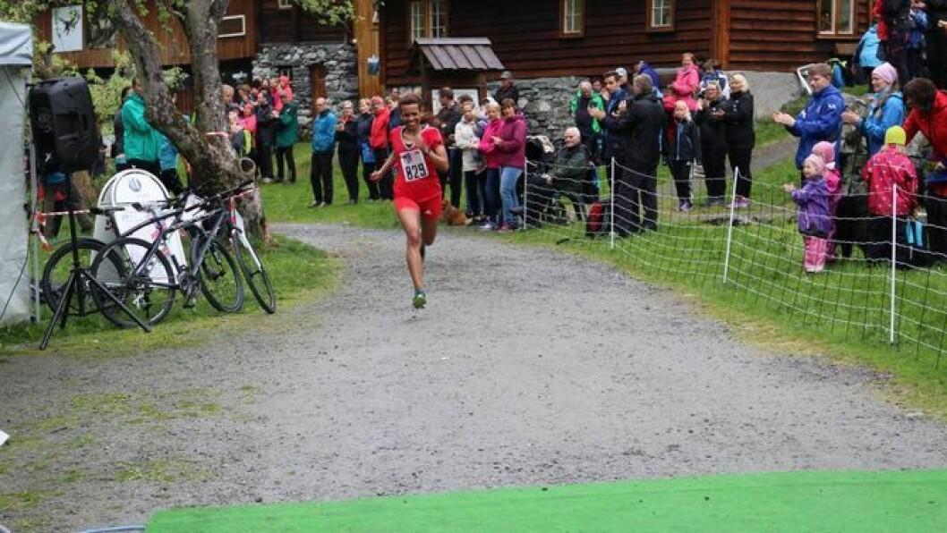 NYTT LØP: HMR-trippelen i Årdal har fått eit nytt, meir sentrumsnært løp i år. Men først ut er Vettisløpet komande søndag. Foto: Camilla Skjær Brugrand.
