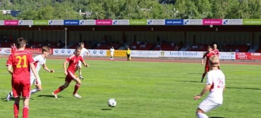 Inga poeng for Årdal FK