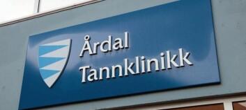 Jobbar med å få nye tannlegar til Årdal