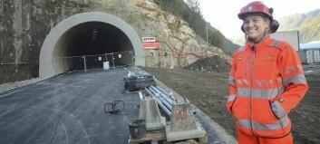Den nye tunnelen vert opna i desember
