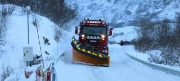 No går trafikken som normalt i fjellet