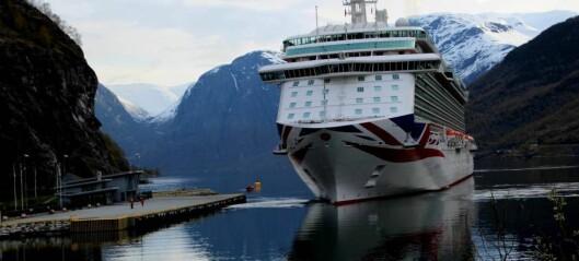 Sjøfartsdirektoratet vil redusere forureininga frå cruiseskip i norske fjordar