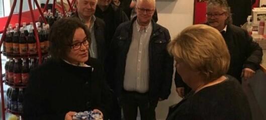 Sogndal Høgre bad statsministeren vera riksveg 52-vennleg