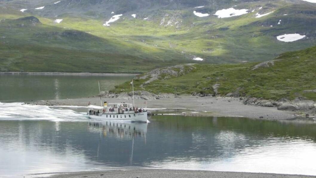 FJELLTURISME: Valdres er eit av tre dalføre som samarbeider i Mountains of Norway-prosjektet. Samarbeidet mellom dalføra skal få fleire turistar til å oppsøke destiansjonar i området, som til dømes Bygdin. Foto: Wikimedia Commons cc-by-2.0