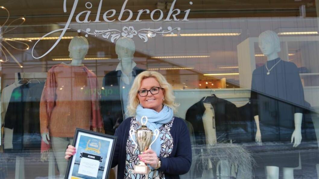 JUBILEUM: Sonja Øren inviterte til ti-årsjubileum for Jålebroki i helga.