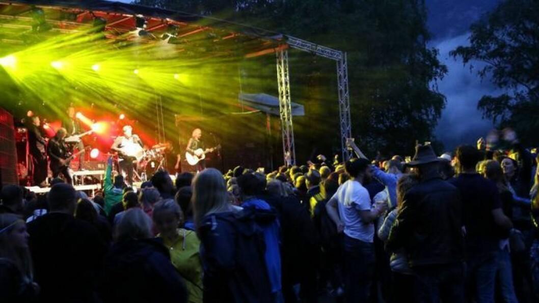FESTIVALHELG: I helga blir det fest i Lærdal når Jordeplerock går av stabelen for femte gong. Foto: Jan Christian Jerving.