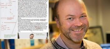 Språkprofessor i nynorskkrangel med kjendisveterinær