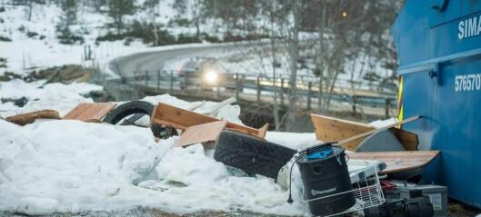 Folk dumpar søppel i Sogndalsdalen: – Mangel på folkeskikk