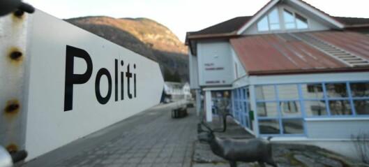 Lensmannskontoret i Aurland er berga