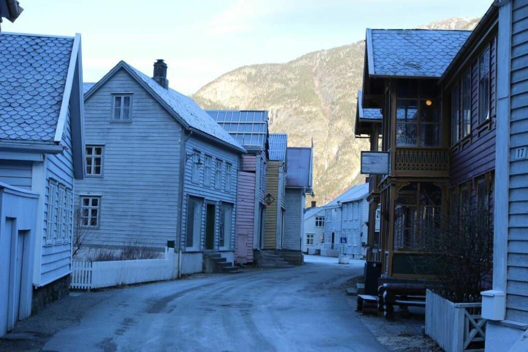 ATTRAKTIV: Lærdal generelt og Gamle Lærdalsøyri spesielt kan bli attraktiv for kunstnarar om ein legg til rette for det, meiner prosjektleiar Tone Boska. Foto: Ole Ramshus Sælthun