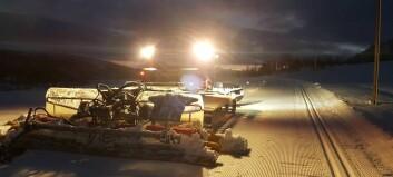 Langrennsfolket jublar over 200 000 til trakkemaskin