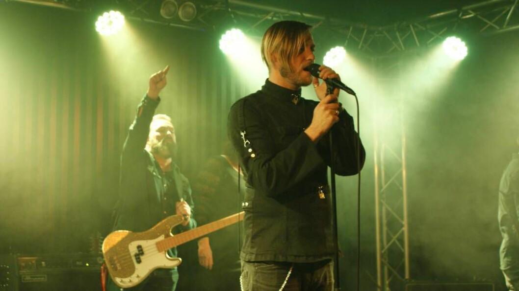 TILBAKE: Odd vende tilbake med bandet sitt etter 11 år sidan forrige opptreden. FOTO: Morten Hestetun Flugheim