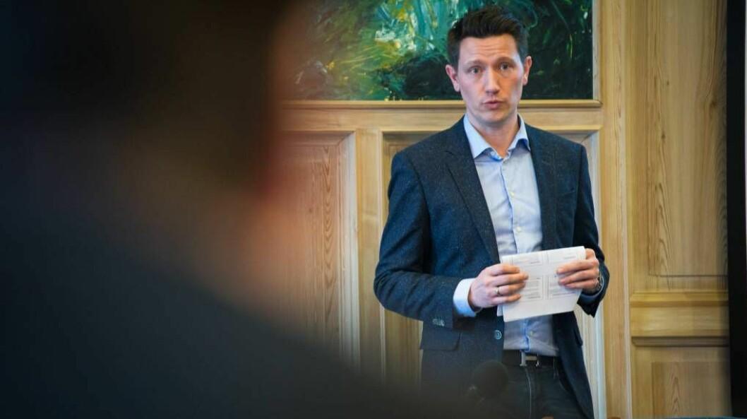MISTANKE: Kommuneoverlege Jan Ove Tryti mistenkjer at koronatilfellet ikkje er reelt, men at det er snakk om ein falsk positiv.