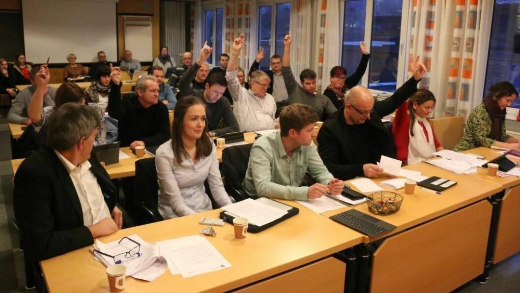 LYTTAR IKKJE: Nesten halvparten av dei som har svart på innbyggjarundersøkinga til Årdal kommune meiner dei folkevalde ikkje lyttar til innbyggjarane sine synspunkt. Foto: Truls Grane Sylvarnes.
