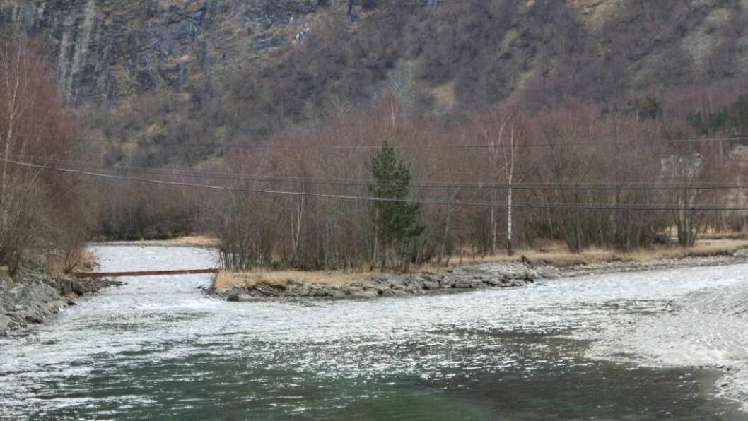 MUNNIG: Kuvelda går gjennom Tynjadalen og renn ut i Lærdalselvi. Foto: Ole Ramshus Sælthun