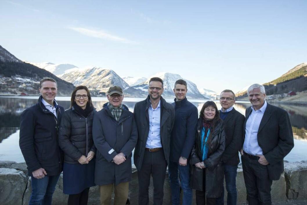 INNGÅR SAMARBEID: Enivest går inn på eigarsida i Årdalsnett med 34 prosent, opplyser selskapa i ei pressemelding. Foto: Jostein Vedvik.