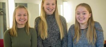 Skalv av nervøsitet – no skal desse jentene til Høyanger