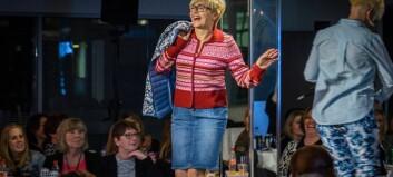 Liv Signe Navarsete stal showet på catwalken