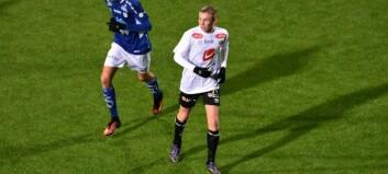 Sivert Mannsverk (14) debuterte for A-laget til Sogndal