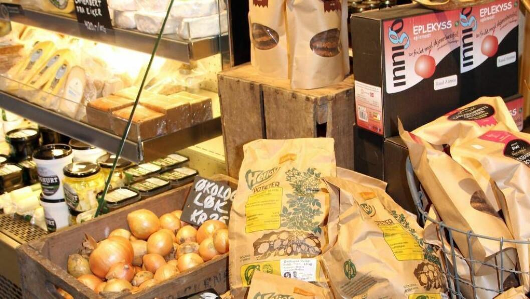 I VINDEN: Lokalmat blir berre meir og meir populært. Illustrasjonsfoto:Kari Hamre / NPK