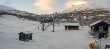 Her var det tredje kaldast i landet i natt