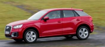 Audi med funky små-SUV