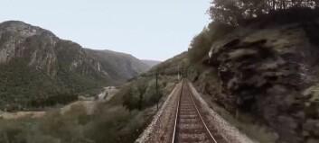 No kan du sjå turen med Flåmsbana i 360 grader