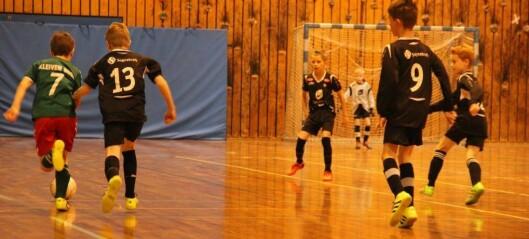 Fotballglede for dei unge lovande