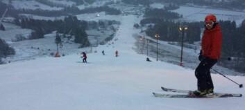 Endeleg kunne dei opne – no ønskjer skifolket seg snø til jul