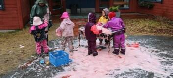 Kunnskapsministeren legg fram ny rammeplan for 6000 barnehagar