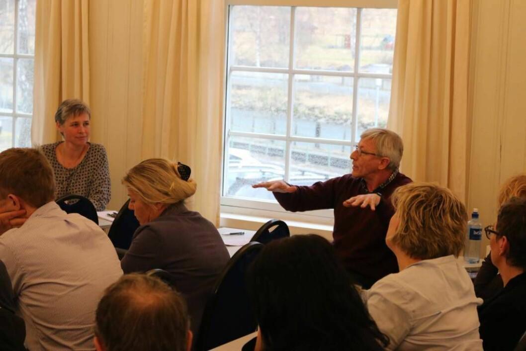 BEDRAG: Leif Inge Underdal meiner turistskatt hadde hatt mykje føre seg for Aurland sitt vedkomande. Foto: Ole Ramshus Sælthun