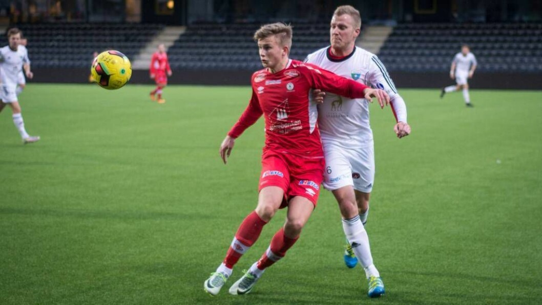 MØTER SOGNDAL: Fjøra har vore favorittar så langt i cupen, men kan nyte underdog-stempelet når dei no skal møte Sogndal i 1. runde i cupen. Foto: Halvor Farsund Storvik.