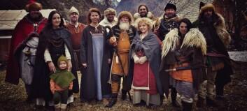 Vikingbyen i Aurland kan bli kulissar for populær NRK-serie