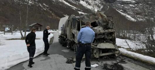 – Samvirket mellom etatane fungerte bra under brannen i Fjærlandstunnelen