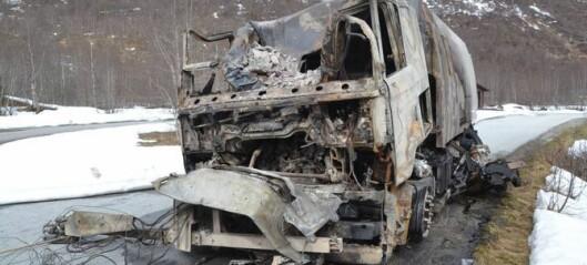 Difor byrja feiebilen å brenne
