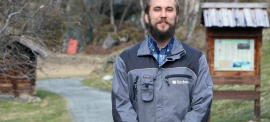 Åsmund (30) skal leie arbeidet med å skjøtte naturen i Utladalen