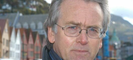 Gunnar Staalesen vitjar Blaoboksen