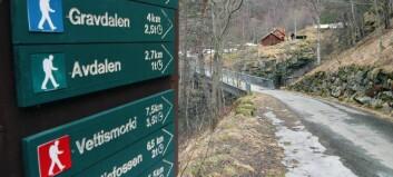 Har fått 100.000 til å skilte turstiar i Årdal