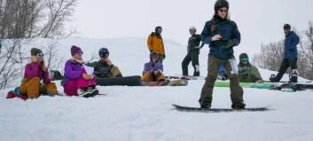 Sjå bilete frå snowboardfesten i Hodlekve