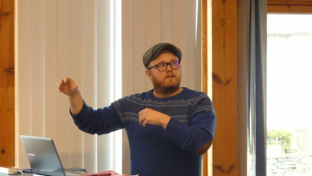 VIL MINKE UTSLEPP: Førstekandidat Gøran Johansen og Aurland MDG vil jobba aktivt for at Aurland kommune blir ein nullutsleppsdestinasjon.