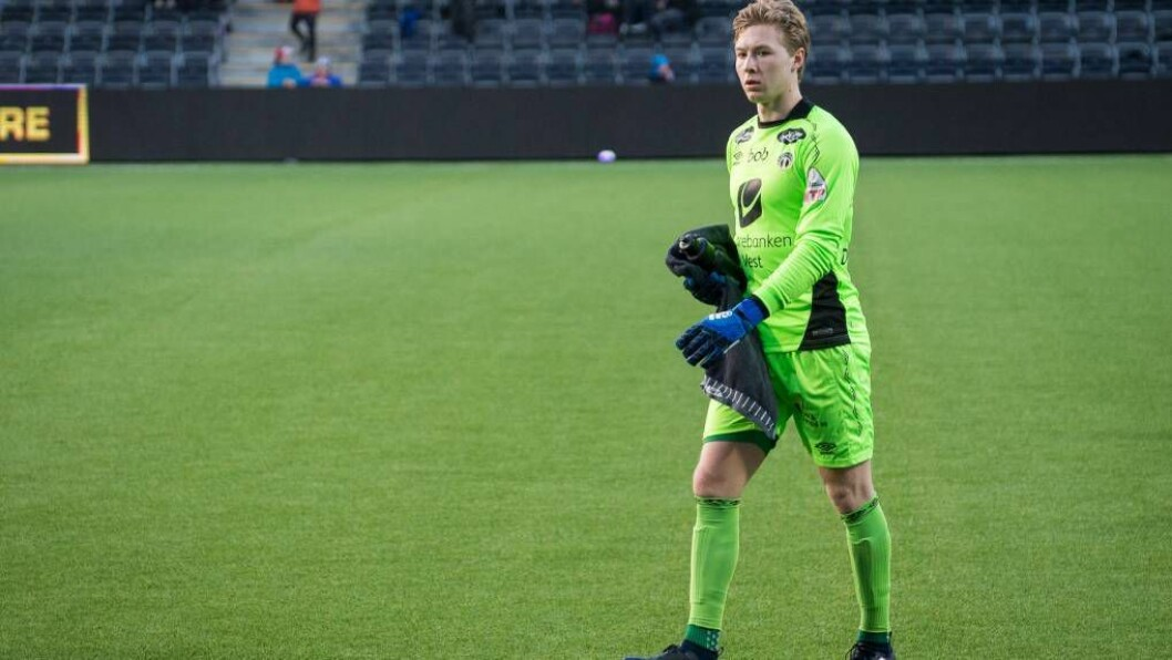 GÅR VIDARE: Kaptein og keeper Mathias Dyngeland takkar for seg etter sju år i Sogndal. Han er klar for å gå vidare.