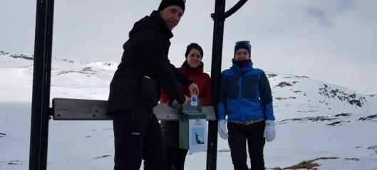 Fekk god hjelp av skifolket til å registrera fjellryper