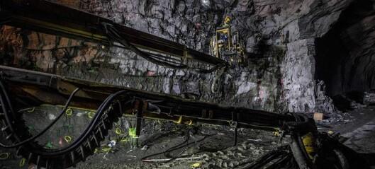 Jobbar om natta for å få tunnelane ferdige