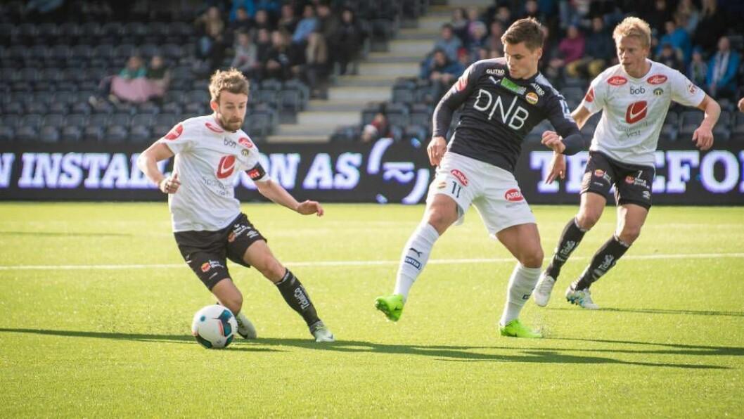 TILBAKE: Henrik Furebotn er tilbake i førsteellevaren og ber kapteinsbindet når Sogndal i kveld skal prøve å ta seg forbi Raufoss i cupen. Foto: arkiv.