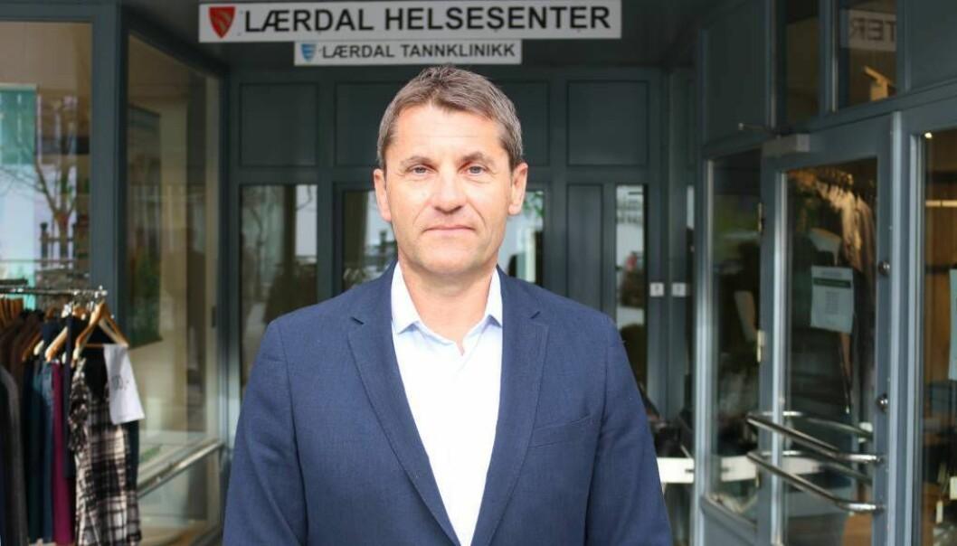 RÅDMANN: Arne Johansen er ny kommunedirektør for Sogndal kommune.