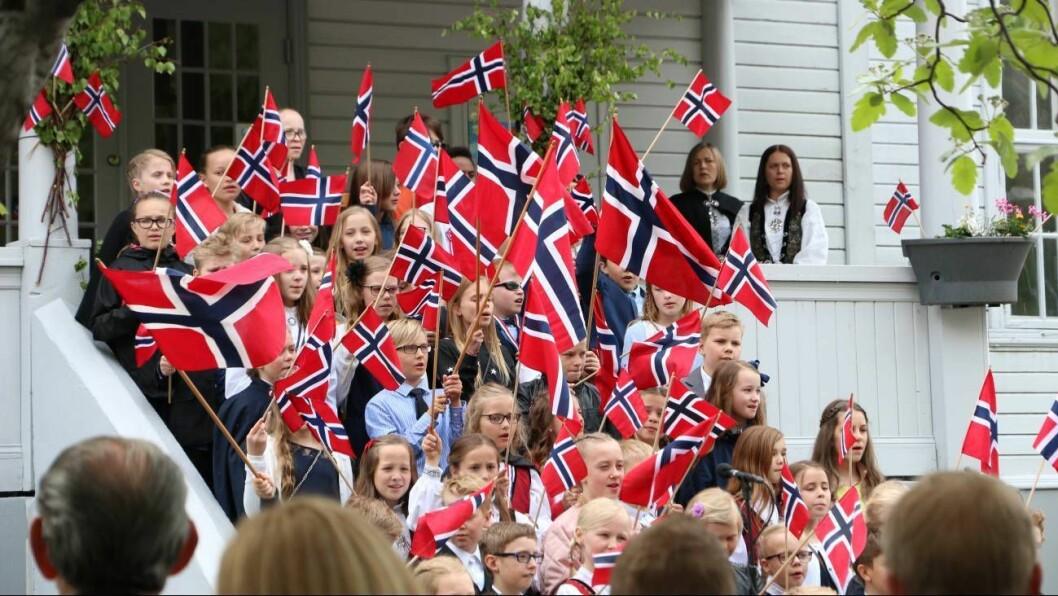 DIGITALT: Slik får du ikkje feira 17. mai i Årdal i år.
