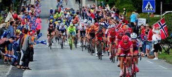 Slik blir vegstengingane under sykkelfesten