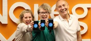 Jublar over nynorsk på iPhone og iPad